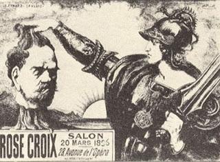 Armand point et le phalanst re d 39 hauteclaire for Salon rose croix